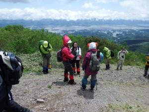 神子岩の眺望が気に入っていただいたようです。