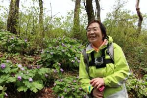 笑顔が素敵な田部井淳子さんでした。